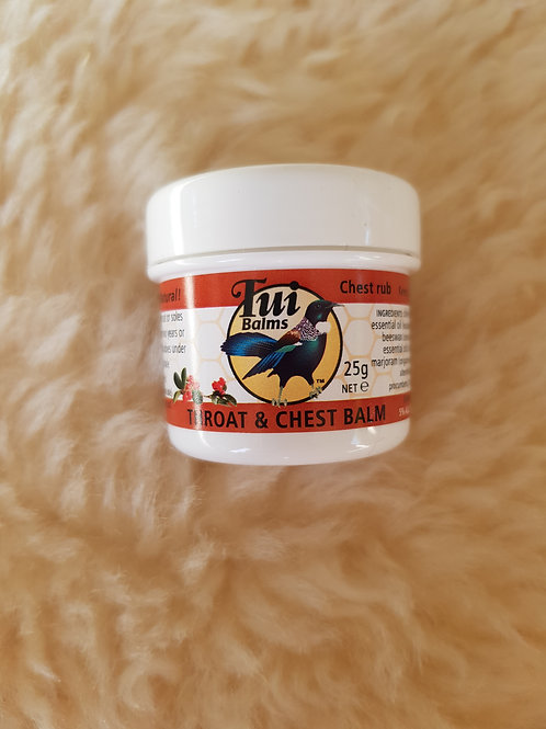 Throat and Chest Balm - 25g