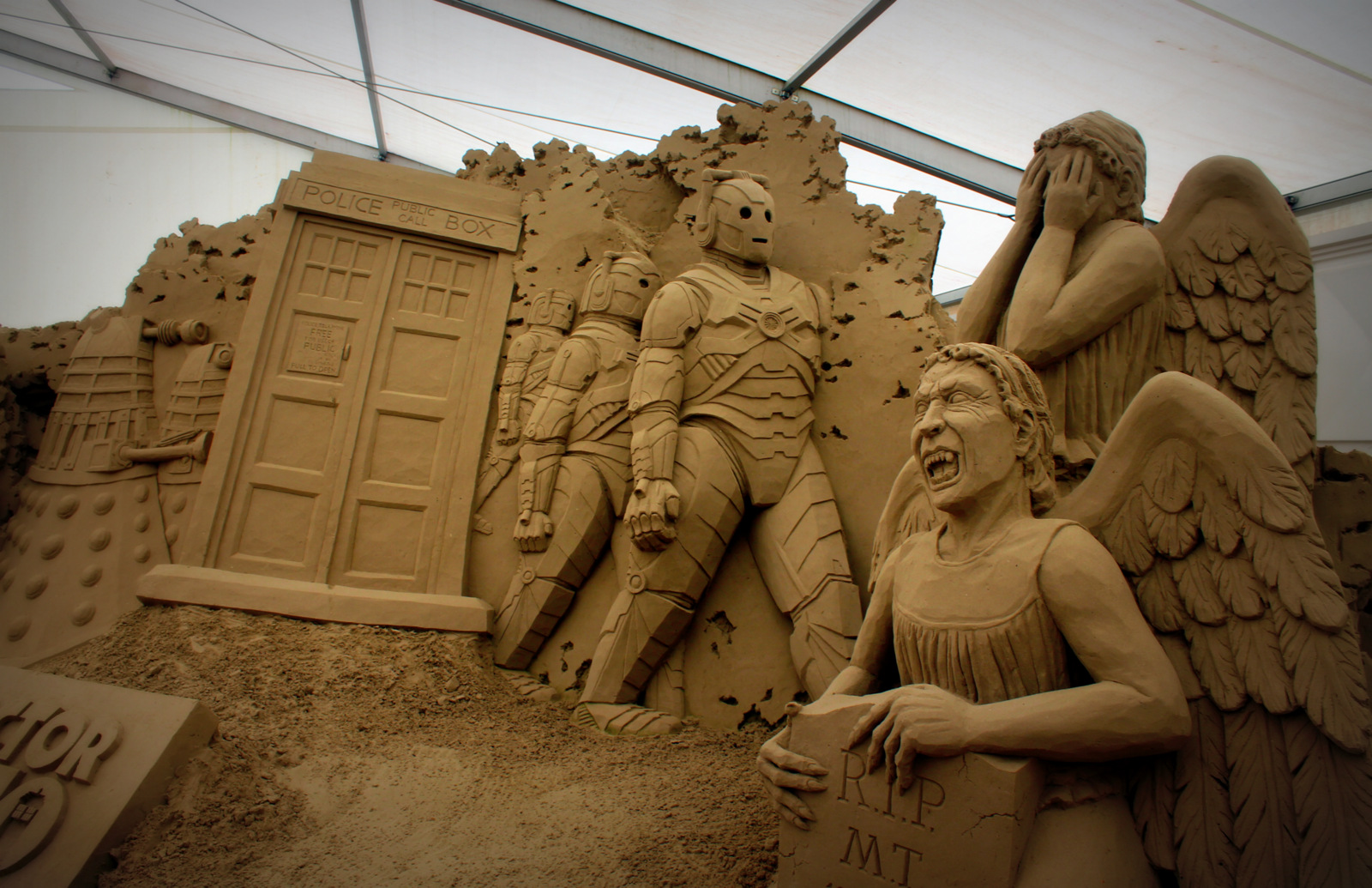 Doctor Who at Sandworld