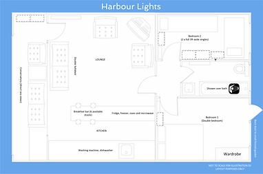 Cliff End West Bay Floor Plan