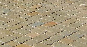 Premium paving blocks.