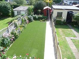 A garden after a Nam Grass installation