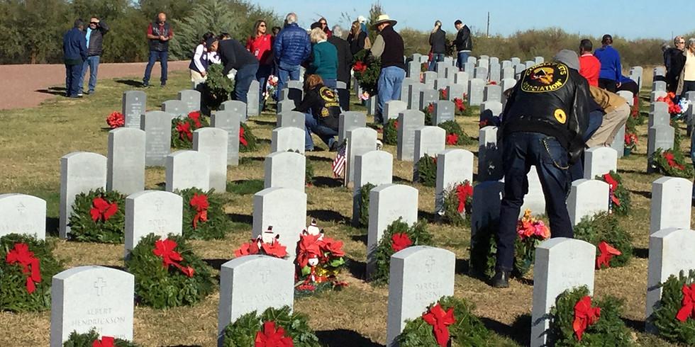 Wreaths Across America Ceremony