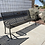 Thumbnail: 8' Columbarium Metal Bench with Inscription