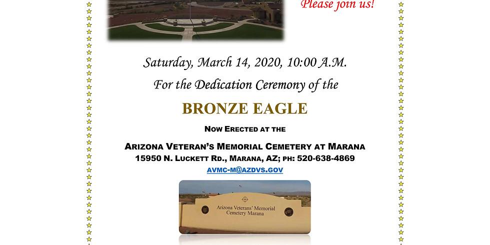 Eagle Statue Dedication & 4th Anniversary