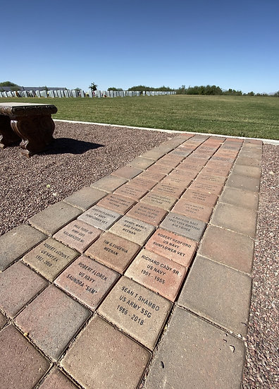 "6"" x 9"" Commemorative Brick Paver"