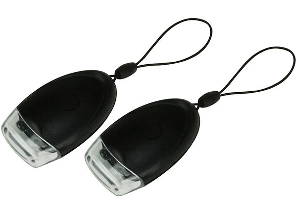 Double LED Keychain Light Set