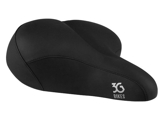 Extra Wide Comfort Bicycle Saddle