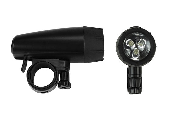 Triple LED Bicycle Light Front