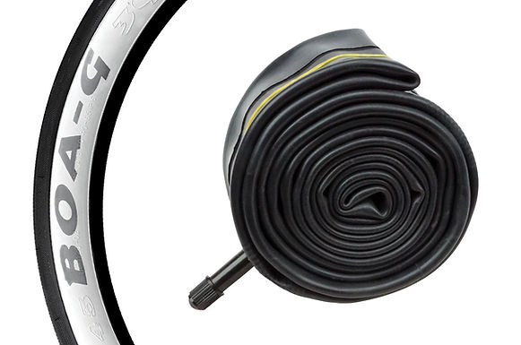 """BOA-G"" BICYCLE TIRE TUBES - 26"" X 2.4/2.7"""