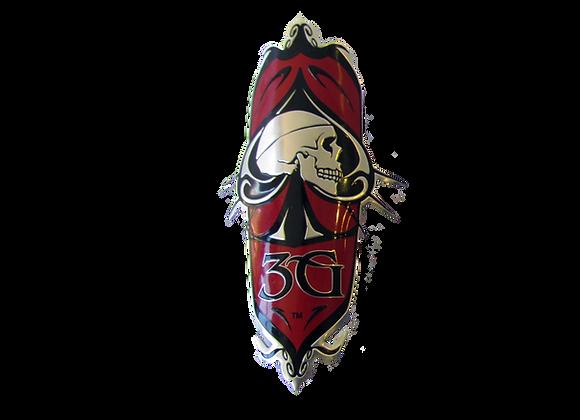 Skull Head Badge