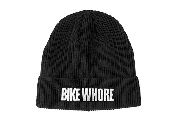 Bike Whore Visor Beanie