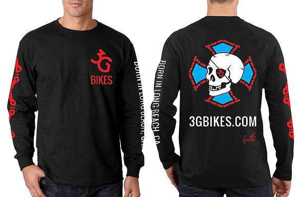 Skull Shirt Long Sleeve