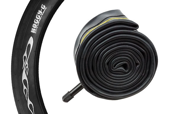 """HOGGY-G"" BICYCLE TIRE TUBES - 24"" X 2.4""/2.7"""