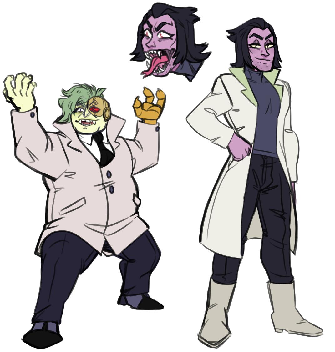 OK-KO Villains