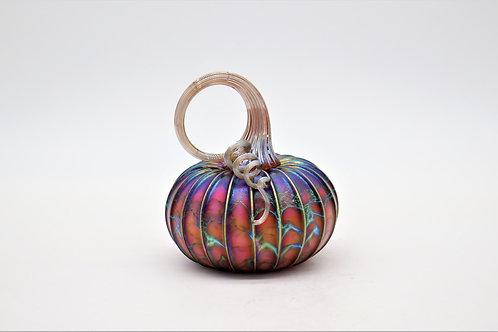 Amethyst Glass Pumpkins