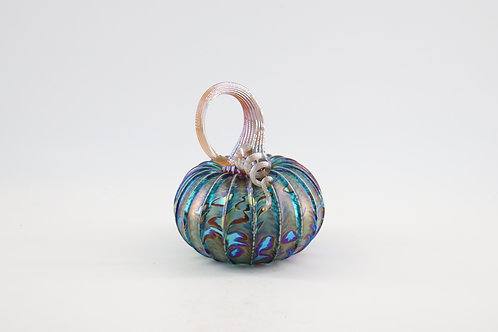 Lagoon Frosted Glass Pumpkins