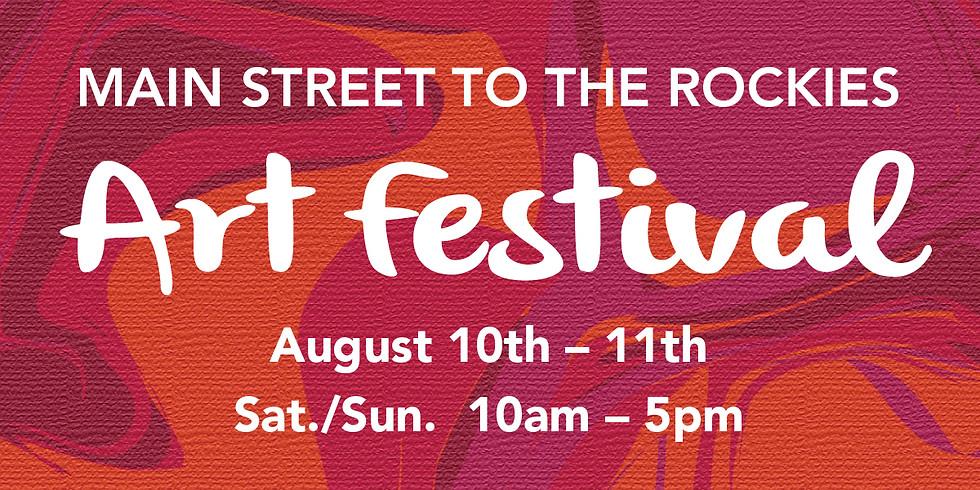 Main Street to the Rockies Art Festival