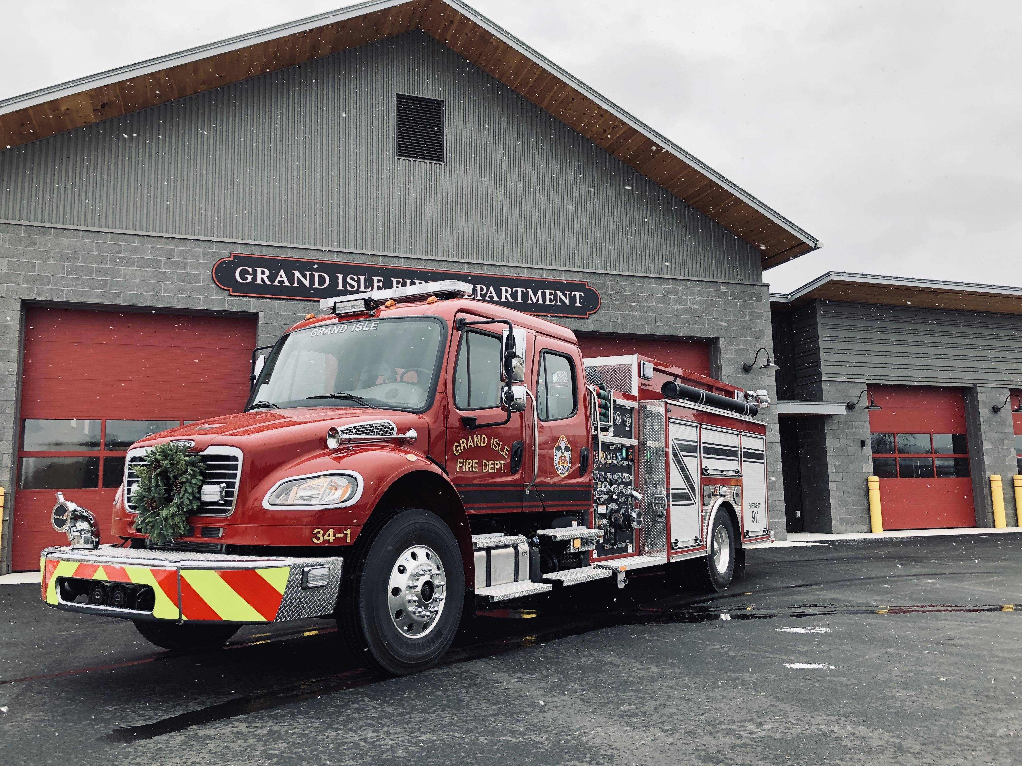 Grand Isle Fire Dept, NY