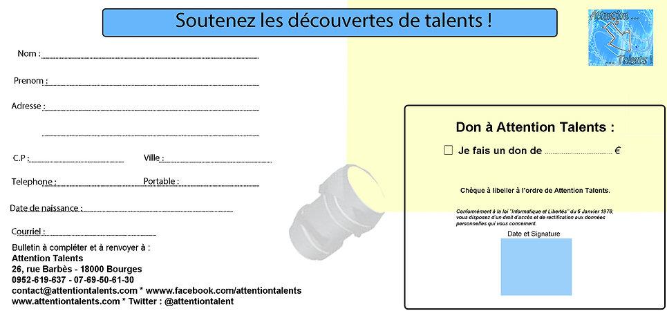 Bulletin de don Attention Talents 220120