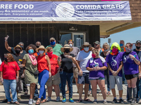 As Food Insecurity Rises, Volunteers Step up