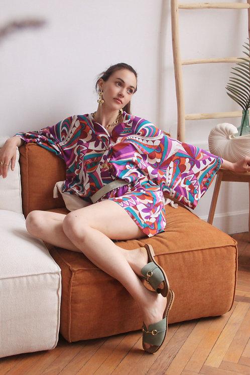 Pyjama Short Violet