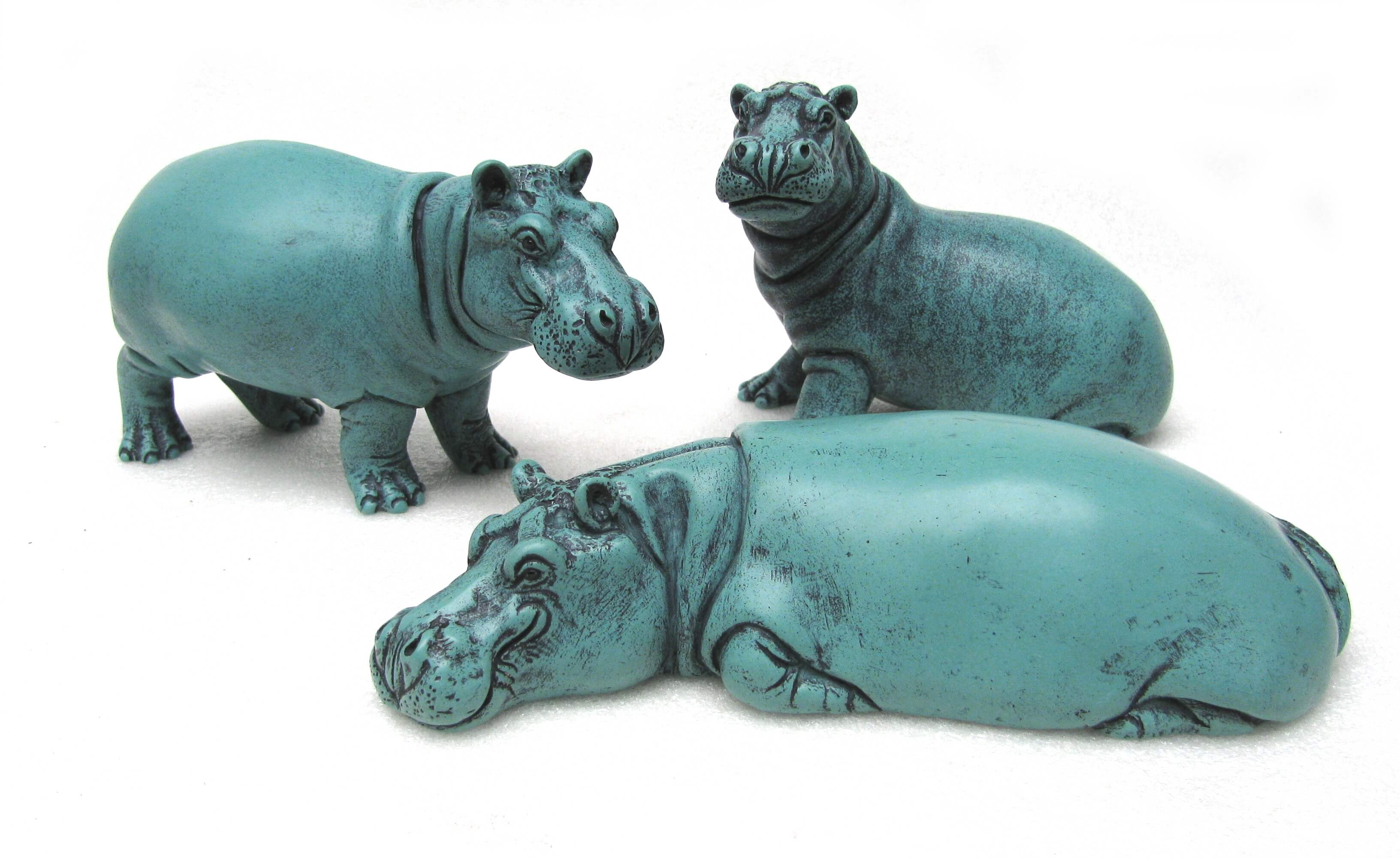Hippo Group in Turquoise