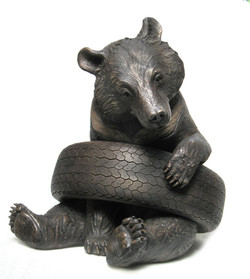 Olly in Tyre - large - bronze resin