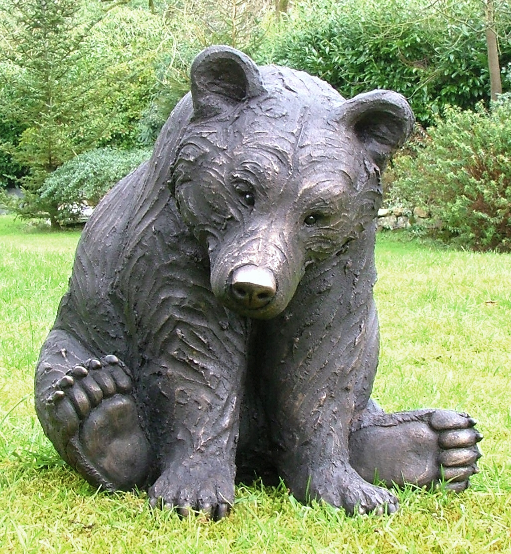 large Sitting Bear