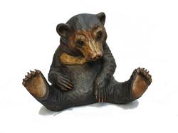Mr Dave Sun Bear - bronze resin - Suzie Marsh