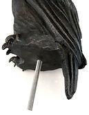 Owl with threaded rod...jpg