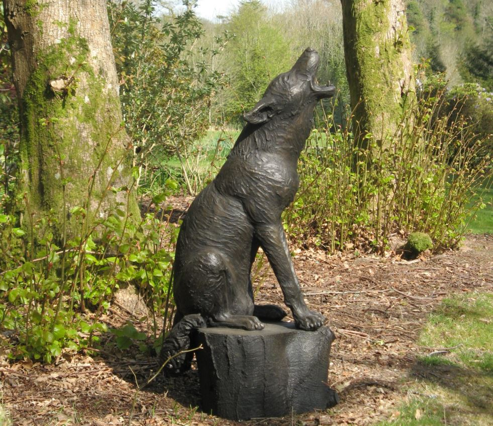 Wolf Howling at the Mooon at Delamore Arts