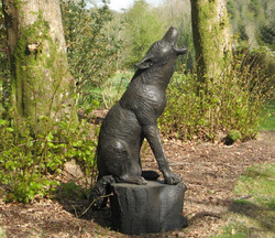 Wolf Howling at the Mooon at Delamore Arts