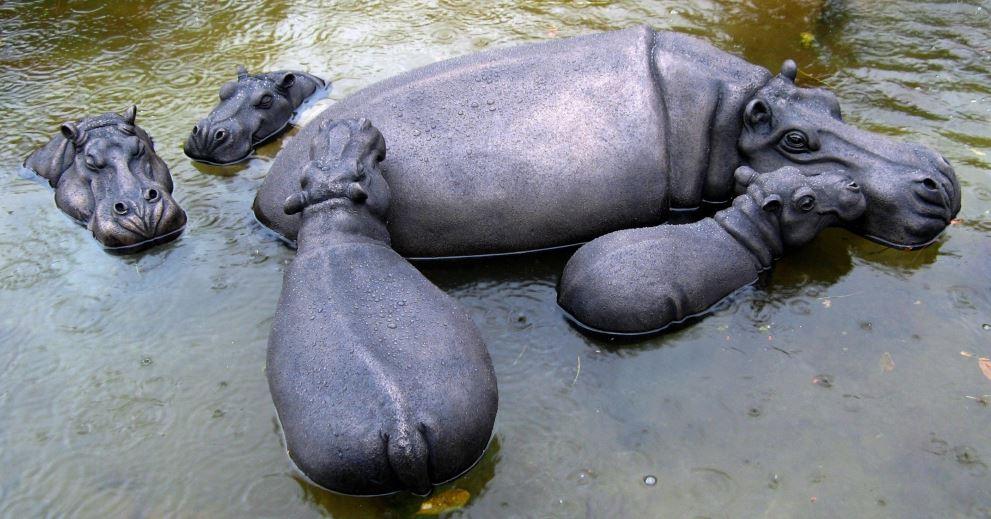 Large Hippo Wallow (bob, Grace, Tembia, cheeky & peaches)