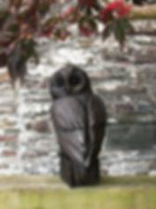 Owl on small plinth ..jpg