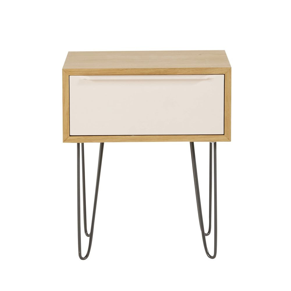 Scandinavian bedside table