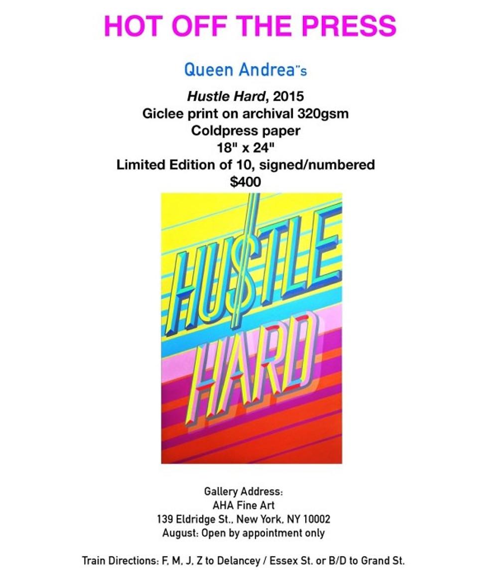 """Hustle Hard"" by Queen Andrea"