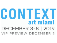 Come see us in Miami! AHA FIne art will be exhibiting at Context Art Miami 2019