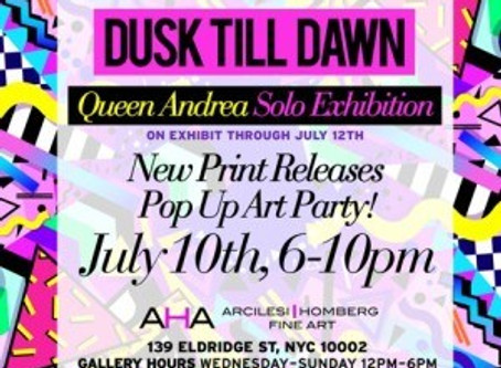 Pop Up Party July 10, 2015 – Dusk Till Dawn