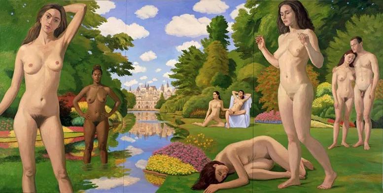 Bathers in Saint James Park