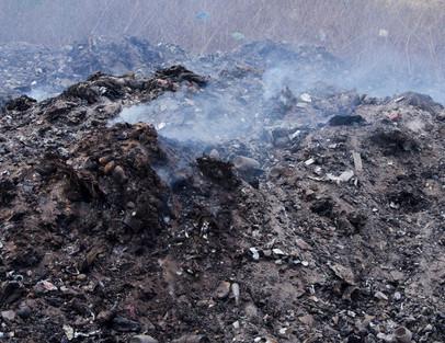 Methane Release, Leon Landfills, Nicaragua, 2015