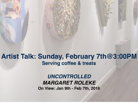 Artist Talk: Margaret Roleke