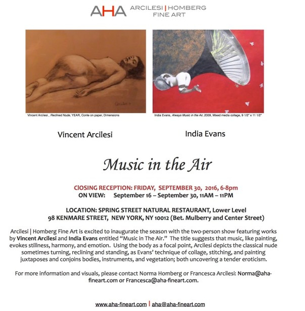 Music in the Air Closing Reception