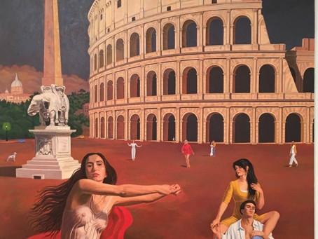 Vincent Arcilesi  – AHA Artist in the Press