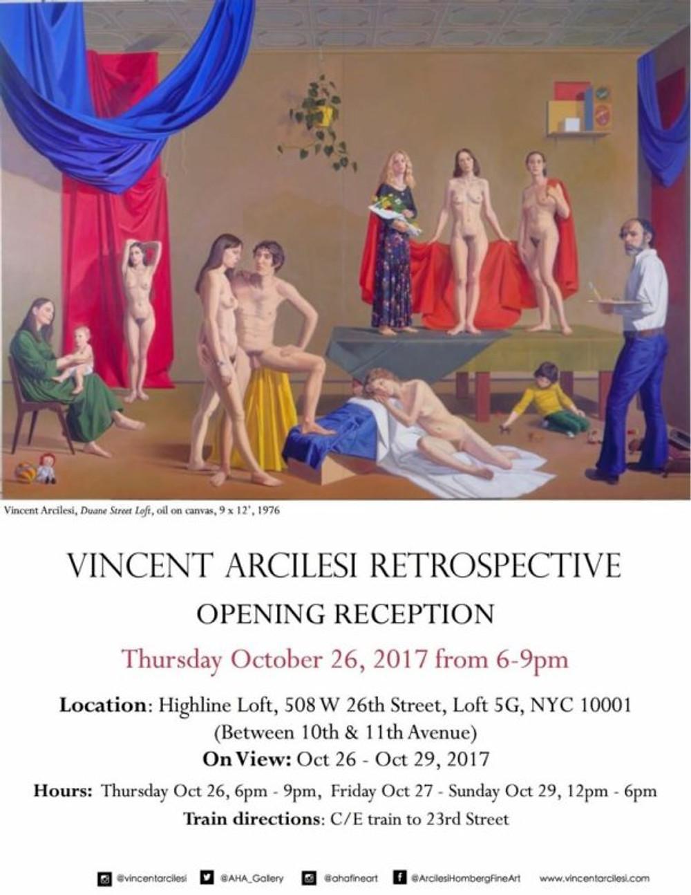 Vincent Arcilesi Retrospective 2017