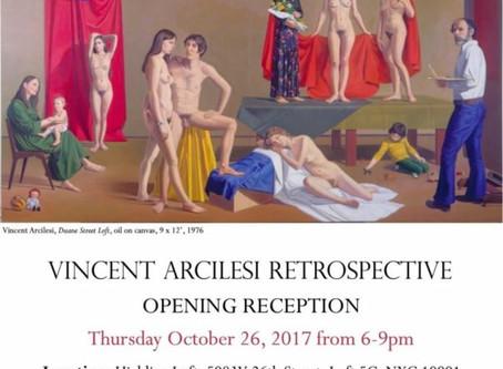 """Vincent Arcilesi Retrospective"""