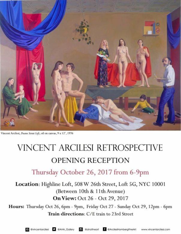 Vincent Arcilesi Retrospective