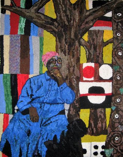 Nettie Young, Gee's Bend Quilter, in Klimt