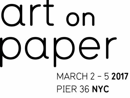 """art on paper"" – ART FAIR"