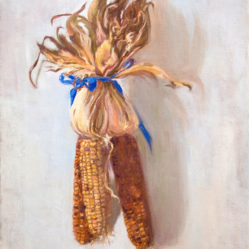 "Sonia O'Mara, Hanging Harvest, Oil on linen, 16x14"""