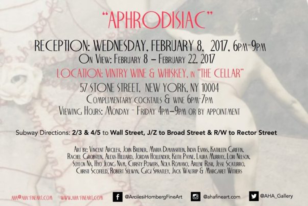 """APHRODISIAC"": NEW AHA Group Show 2"